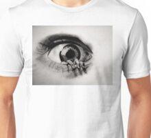 Hand crawling out of Eye Unisex T-Shirt