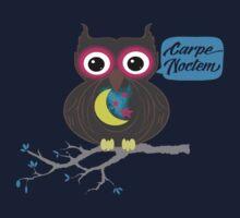 Carpe Noctem Owl by Konoko479