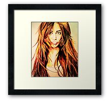 The old Miley Cyrus Framed Print