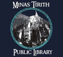 MINAS TIRITH PUBLIC LIBRARY by RecycleBin