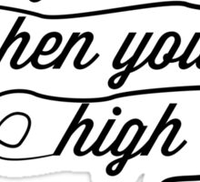 Why'd You Only Call Me When You're High?, Arctic Monkeys Sticker