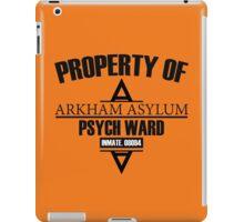 Arkham Asylum // Psych Ward Inmate Design iPad Case/Skin