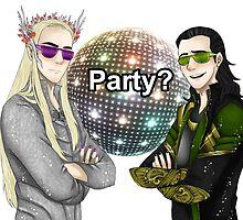 Party? by Rainy-Kho57