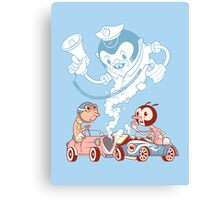 Crash Boom Bang Canvas Print