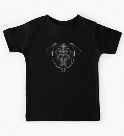 mops puppy white - french bulldog, cute, funny, dog Kids Tee
