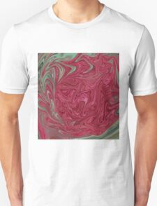 Red Seedhead Abstract T-Shirt