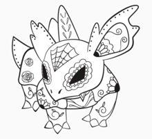 Nidorina de los Muertos | Pokemon & Day of The Dead Mashup T-Shirt