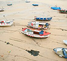 Boats at St Ives Cornwall by photoeverywhere
