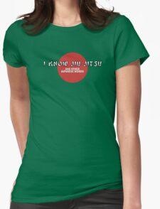 Jiu-Jitsu Tee Womens Fitted T-Shirt