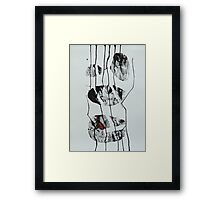 Untitled Abstract Study 4 Framed Print
