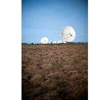 Goonhilly Earth Satellite Station Photographic Print