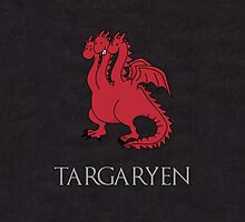 Game of Thrones - House Targaryen Sigil by charsheee