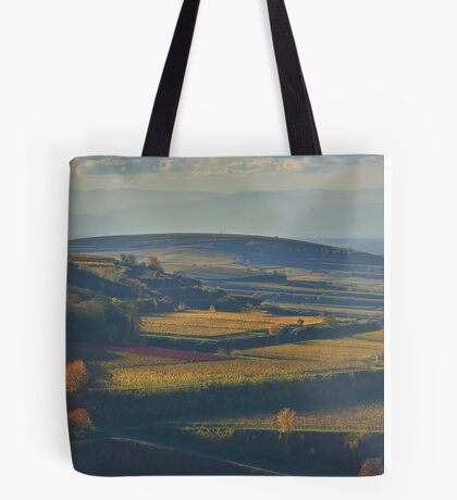 View across the Kaiserstuhl in Autumn Tote Bag