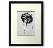 Untitled Abstract Study 9 Framed Print