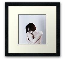 Nude White  Framed Print