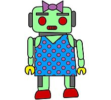 Ms. Robot Photographic Print