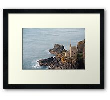 Crown Mines Engine House Framed Print