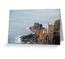 Crown Mines Engine House Greeting Card