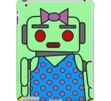 Ms. Robot iPad Case/Skin