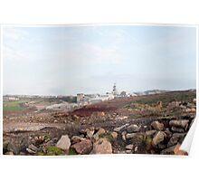 Geevor Mine, Pendeen, Cornwall Poster
