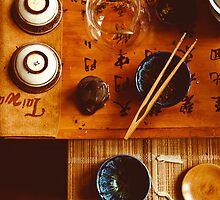 Chinese tea-party by Anna Alferova