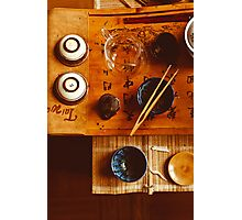 Chinese tea-party Photographic Print