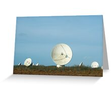 Goonhilly Earth Station, Cornwall Greeting Card