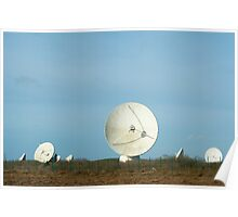 Goonhilly Earth Station, Cornwall Poster