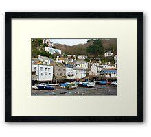 Polperro village, Cornwall Framed Print