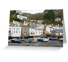 Polperro village, Cornwall Greeting Card