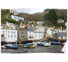 Polperro village, Cornwall Poster