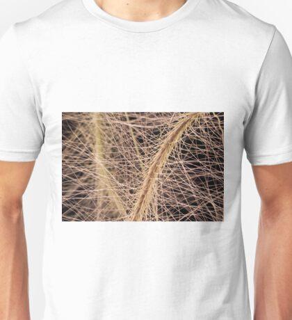 Fox Tail Grass Macro Unisex T-Shirt