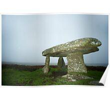 Lanyon quoit dolmen Poster