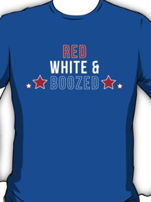 Red White & Boozed T-Shirt