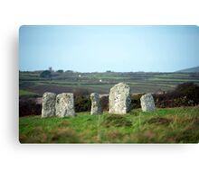 Merry Maidens stone circle Canvas Print