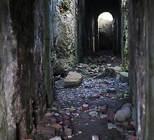 Levant mine powerhouse ruin by photoeverywhere