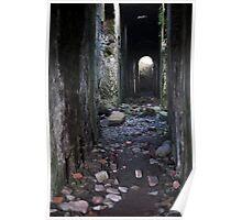 Levant mine powerhouse ruin Poster