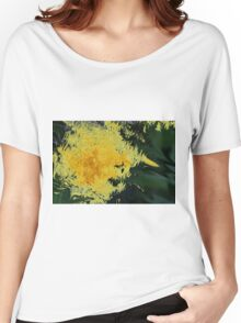 Dandelion Abstract Women's Relaxed Fit T-Shirt