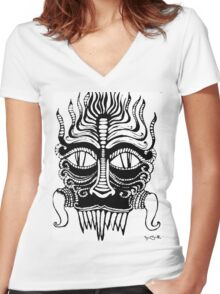 III Women's Fitted V-Neck T-Shirt