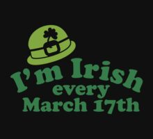 I'm irish every March 17 by penguinua