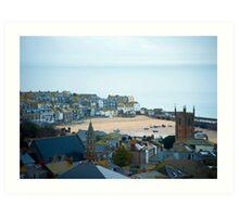 Saint Ives , Cornwall Art Print