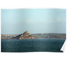 View of St Michaels Mount Poster