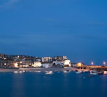 Evening in St Ives, Cornwall by photoeverywhere