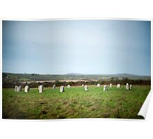 Merry Maidens stone circle Poster