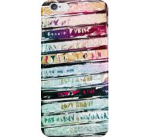 Abstract Cassettes Graphic iPhone Case/Skin