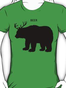 Beer (Deer + Bear) T-Shirt