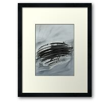 Untitled Abstract Study 18 Framed Print