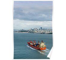 cargo ship Poster