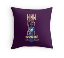 The True Sonic Screwdriver Throw Pillow