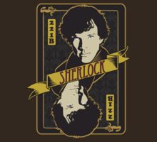 Sherlock Playing Card by metacortex